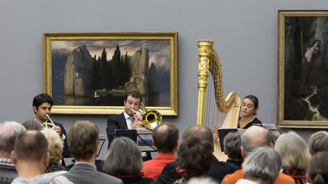Concert in the Alte Nationalgalerie (Opens a Larger Version of the Image)