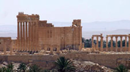 Ruins of the ancient city of Palmyra in Syria
