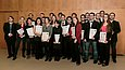 All of the prizewinners in the 2013 Felix Mendelssohn Bartholdy Conservatory Competition