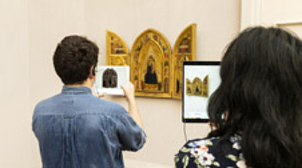 Augmented Reality in the Gemäldegalerie