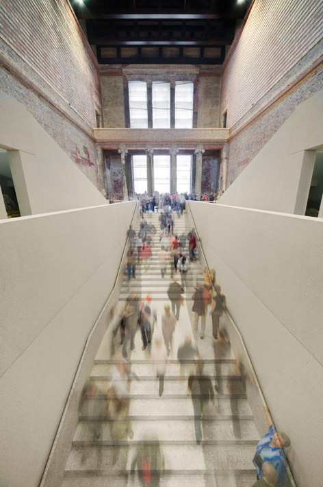 Staircase of Neues Museum