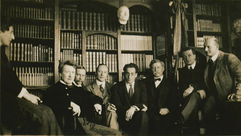 Busoni and his colleagues