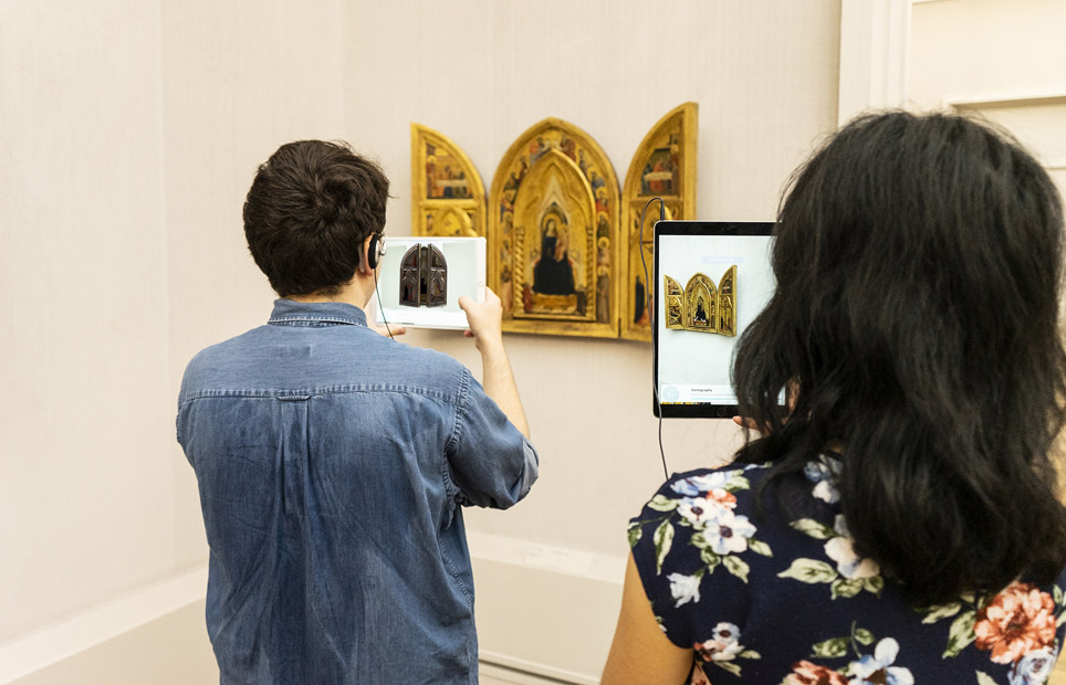 Augmented Reality in der Gemäldegalerie
