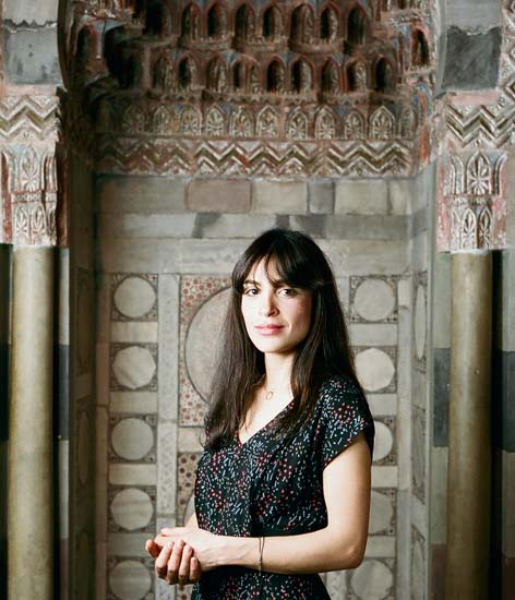 Razan Nassreddine im Pergamonmuseum