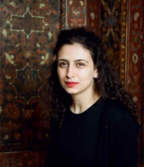 Zoya Masoud at the Pergamonmuseum