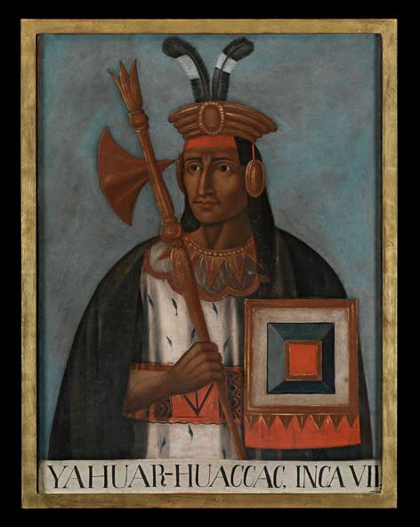 Wilhelm Gretzer (1847–1926), a textile merchant who lived in Peru for thirty years, acquired a huge collection of mostly archaeological objects in Peru, including a fifteen-part series of Inca portraits from the nineteenth century.