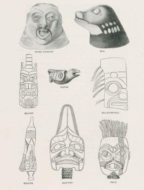 "Seite aus ""Primitive art. A guide leaflet to collections in the American Museum of Natural History"", 1904 © Ibero-Amerikanisches Institut"