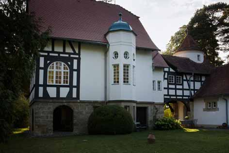 Designed by Theodor Fischer, the house is now privately owned