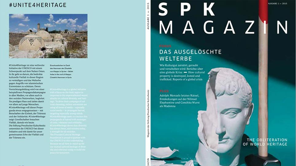 Front and back covers of the SPK Magazine issue no. 7 (opens enlarged image)