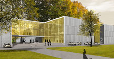 3D visualization of the central storage facility of the Staatliche Museen zu Berlin