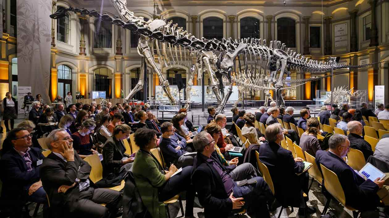 Global Summit of Research Museums im Naturkundemuseum Berlin