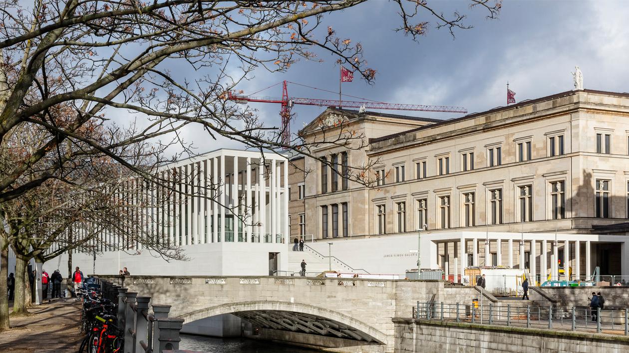 Die James Simon Galerie Ist Fertig Stiftung Preussischer Kulturbesitz