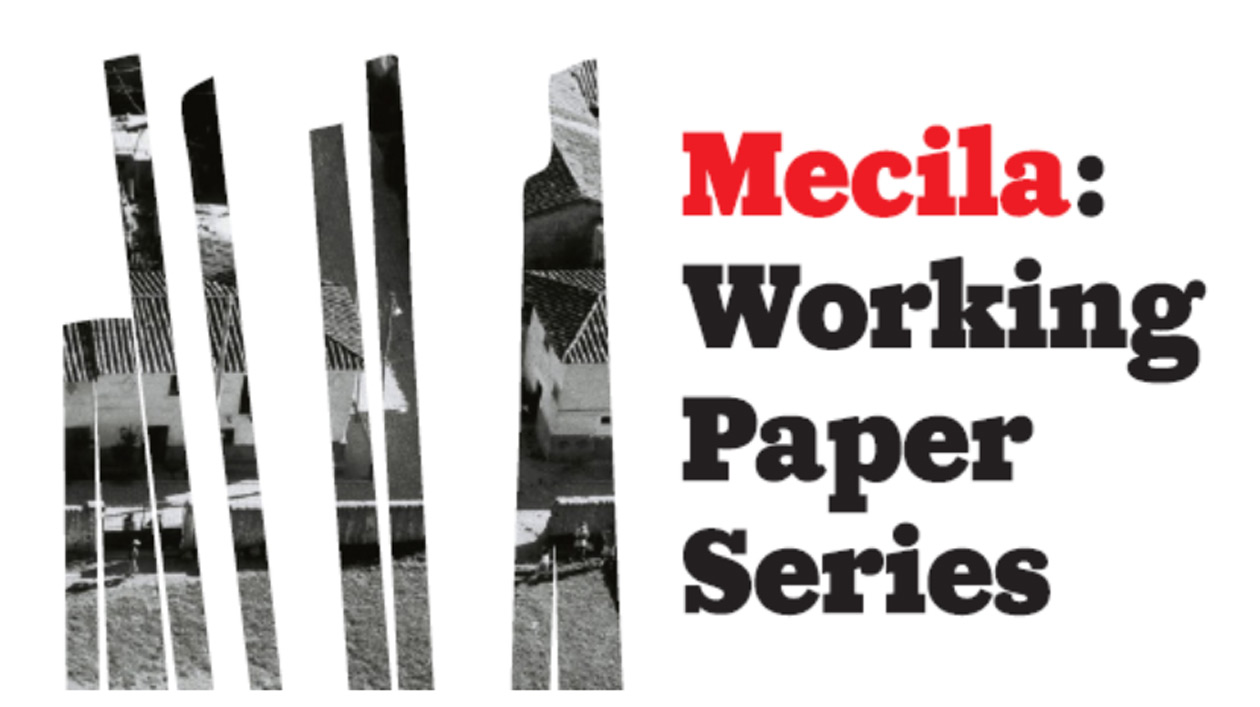 Cover der Mecila Working Paper Series