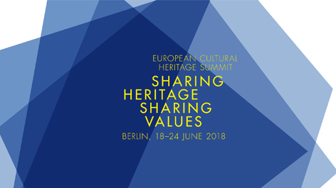 Flyer des European Cultural Heritage Summit